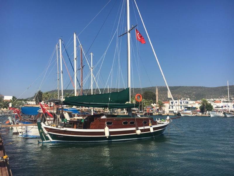 goelette turque type tirhandil a vendre Bodrum Turquie
