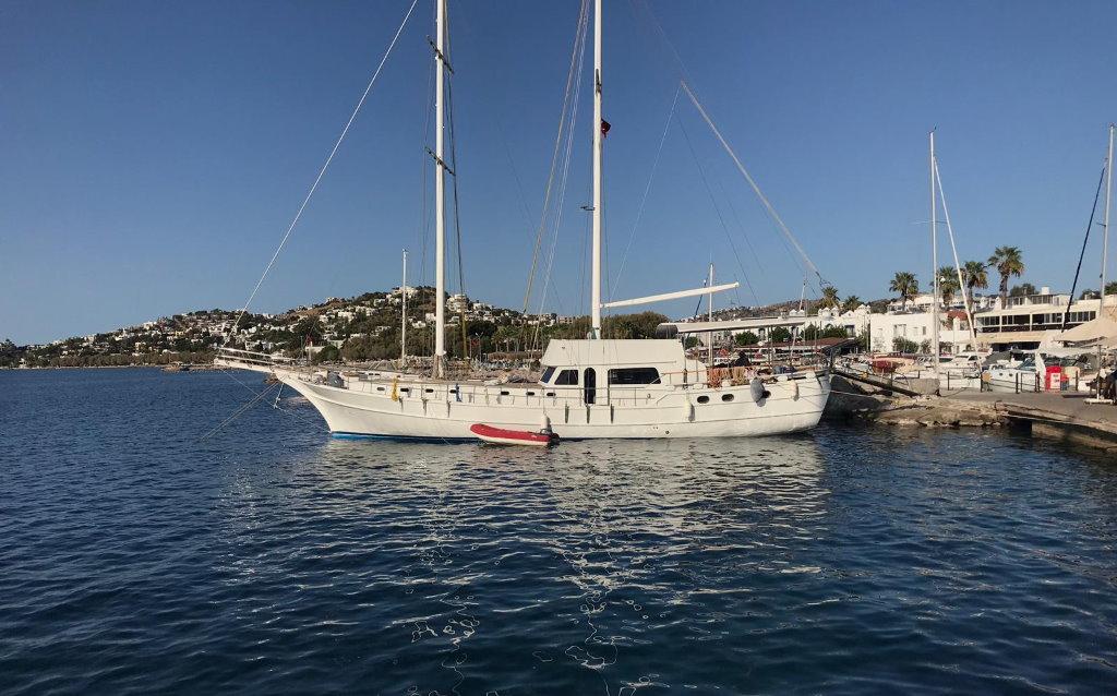 achat bateau type ketch Turquie
